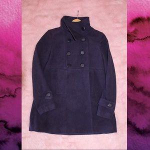 Forever 21 Purple Pea Coat